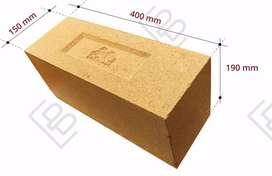 Premium compressed stabilized earth blocks