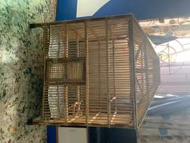 Strong Hard bamboo cage newly made. For Bird lovers