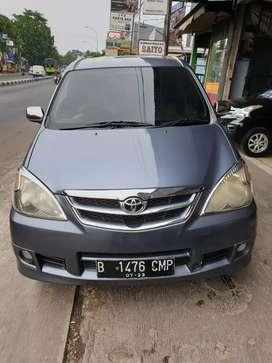 Toyota Avanza 1,3 G Automatic Tahun 2011 Warna Abu-abu Pajak panjang