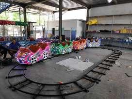 odong kereta lantai mini coaster roller rel datar naik turun PROMO