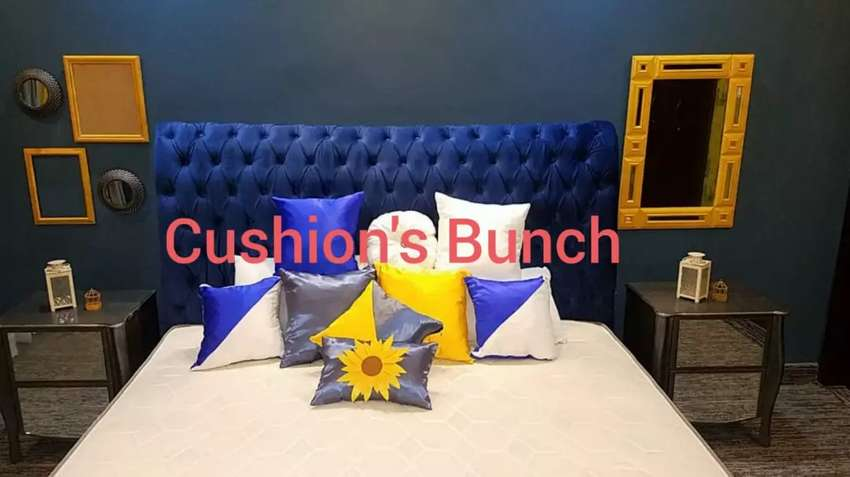 Cushions with cover