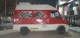 Tempo Traveller modified into FOODTRUCK.