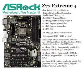 Motherboard Asrock Z77 Extreme 4