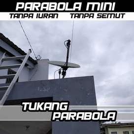Paket Parabola Tanpa Tagihan Bulanan (berikut pasang) Nusantara HD