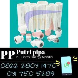 Pipa PPR Westpex Putih Ready Stock Lengkap Dengan Sambungan