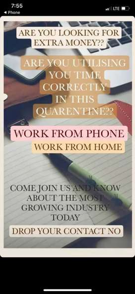 Work from home as like world best business opportuninty
