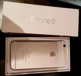 Apple iPhone 6 with all accessories, box &  bill also available with H