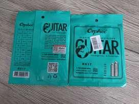 Senar gitar orphee 10-46 bright tone rx17