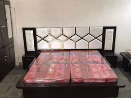 Bed brand new Full 9foot back classy trendy Mattress and Delivery free