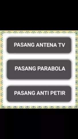 Tv Anda Mau Bagus- Pasang Antena Tv, Pasang Parabola & Penangkal Petir