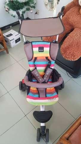 STROLLER BABY ELLE WAVE (RODA 3)