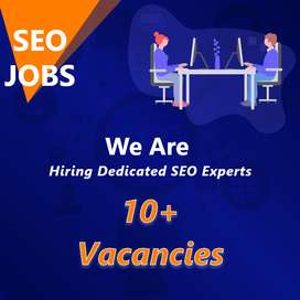 SEO Persons (10 Vacancies)