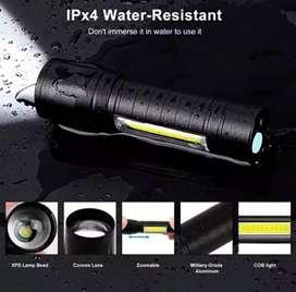 Senter swat mini recharger usb