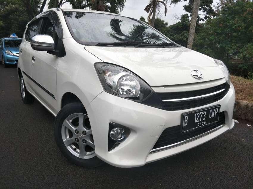 Toyota Agya G AT 2014 Putih 0