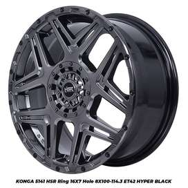 pelek racing KONGA 5141 HSR R16X7 H8X100-114,3 ET42 HB