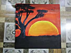 Beautiful acralic painting at 5000rs only