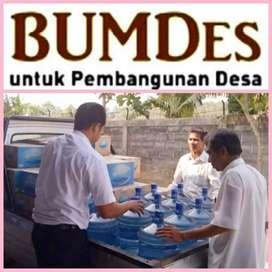 Paket Usaha BumDes Air minum Gelas 50Jt Pabrik amdk Lengkap