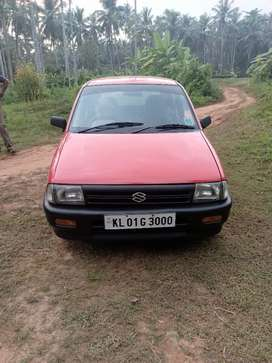 Maruti Zen neat and clean car red colour
