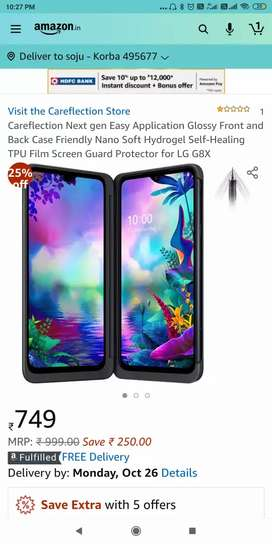LG G8X dual screen mobile