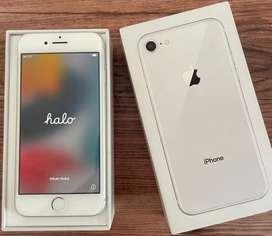 Apple iPhone 8 64GB, Silver  (mulus)