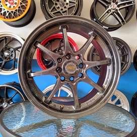 kredit 0% Rays Racing 15x7 H8 100 114.3 +35 untuk mobil  CITY LIVINA