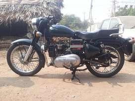Self starting and diesel bike