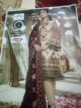 New lown embroidery  dresses 2020
