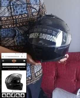 Helm  impor harley original dan helm branded lainnya