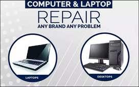 Hometech laptop and desktop repairing