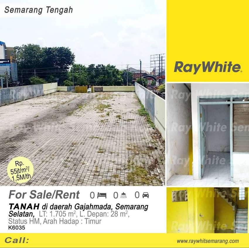 Dijual/disewakan Tanah di daerah Gajahmada - K6035