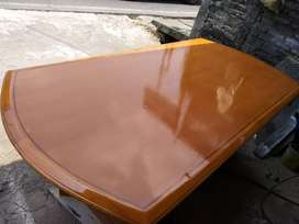 Meja meeting/makan kayu sungkai uk.100*200