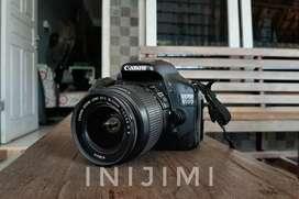 Canon 550d kondisi mantap