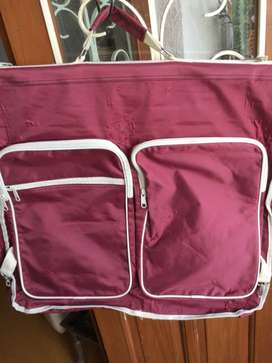 Travel Waterproof Nylon garment bag for suits