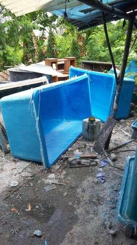 bak atau kolam fiberglass