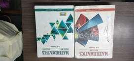 RD Sharma mathematics vol.1 and vol.2