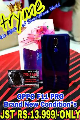 TRYME OPPO F11 Pro, Full Kit Box Fresh Conditions