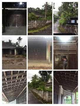 Rumah Limasan lawas full jati 2000m2 Jatinom Klaten 1,2M