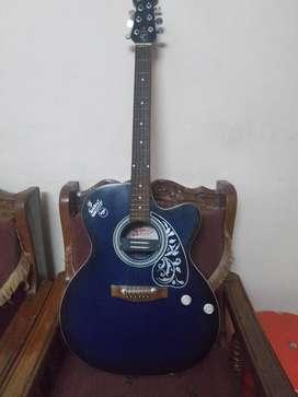 Semi Electric Acoustic Signature Guitar