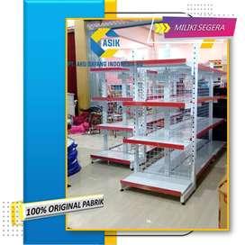 ASLI, rak toko murah / rak minimarket murah produk pabrik