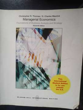 Managerial Economic-Mcgraw Hill International Edition