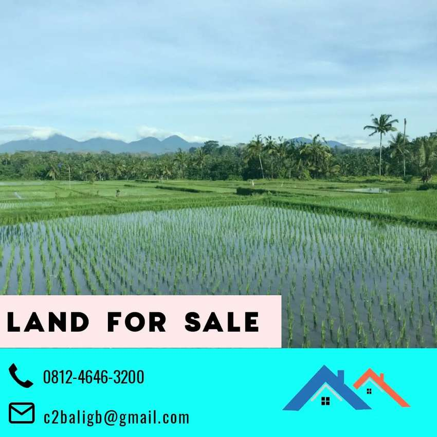 Nice Land for Investment 4 hektar 10 are, di Ubud, Bali