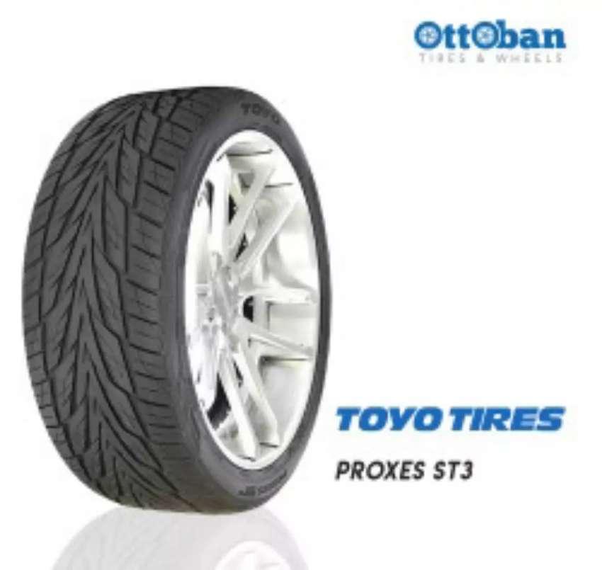 Ban mobil Toyo proxes S/T3 ukuran 255/50 R19 bisa untuk Pajero BMW 0