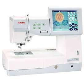 Janome MC 11000 embroidery machine