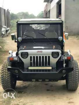 Fully loaded jeep