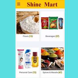 Kirana Grocery App & Website for your Business
