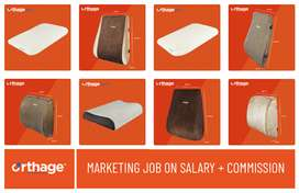 Marketing of Orthage brand Pillows & Backrest