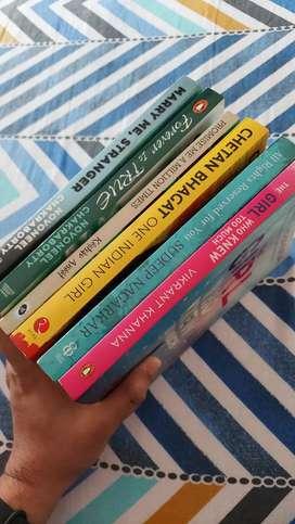 Fiction novels (Set of 7 books)