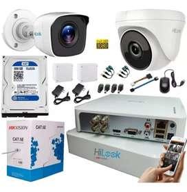 Paketan CCTV lengkap Pasang bisa pantau via hp cikarang