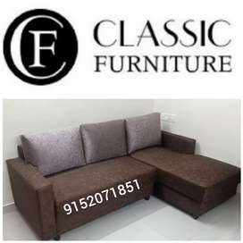 Brand new classic l shape sofa factory price#150