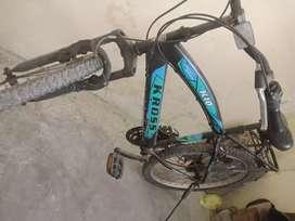 Hero kross k 10 ,18 gears light weight stunt bike